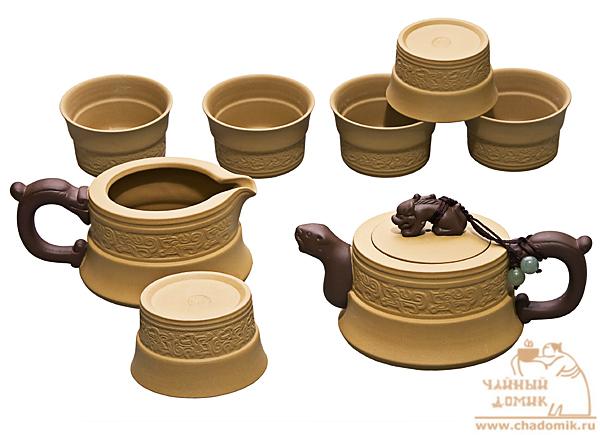зеленый чай набор посуды купить